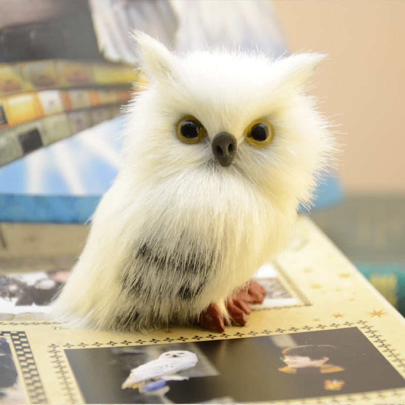 HP Cute Snowy Hedwig