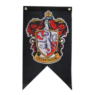 Limited Edition Hogwarts Flag Banners
