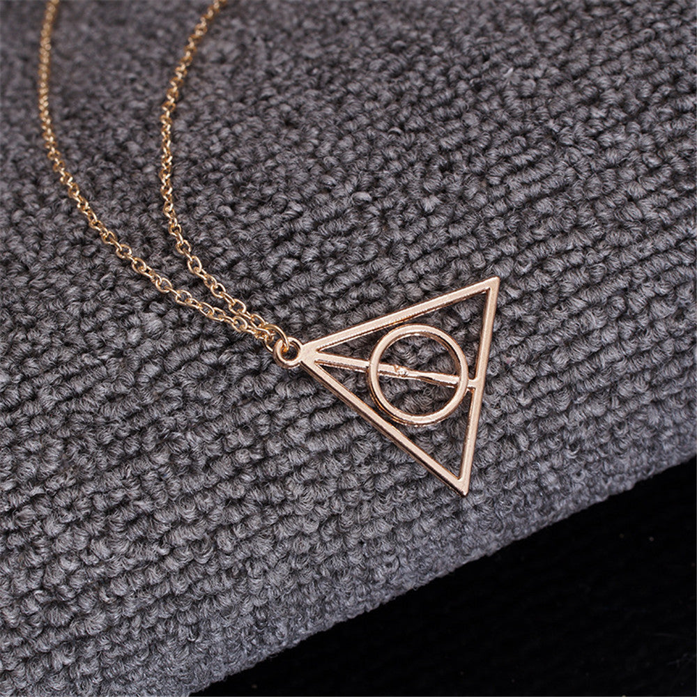 Limited Edition Deathly Hallows Necklace.