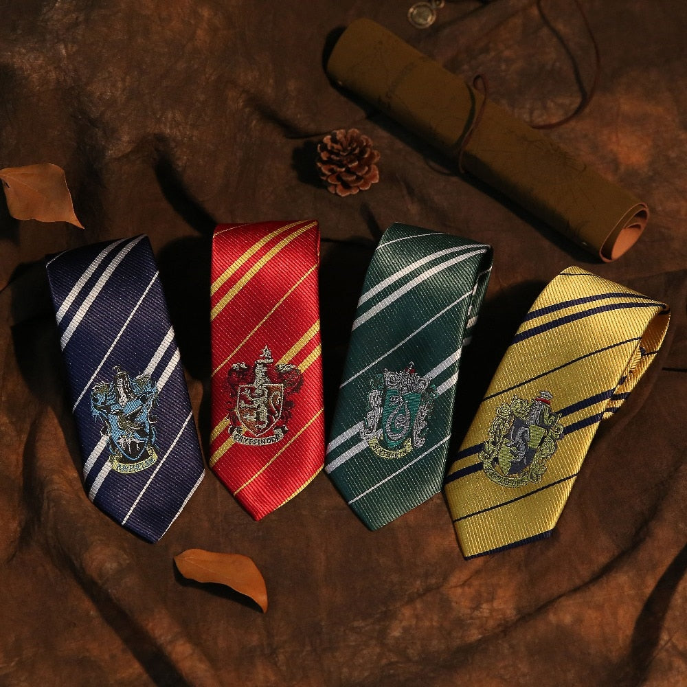 Pack Of 4 Hogwarts Ties