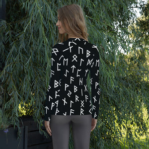 Women's Elder Futhark Rune Shirt - Heathen Roots