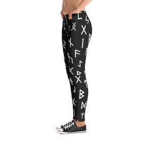 Futhark Rune Womens Leggings - Heathen Roots