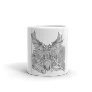 Skeleton king Original Artwork Mug - Heathen Roots
