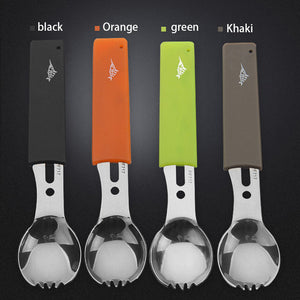 Stainless Steel Multifunction Spork Knife tool - Heathen Roots