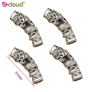 5pcs Norse Dragon Beard Bead Rasta Dreadlocks Beads - Heathen Roots