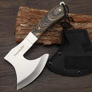 Sharp Survival tomahawk with wood handle - Heathen Roots