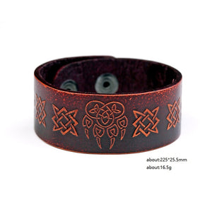 Celtic Bear Bracelet - Heathen Roots