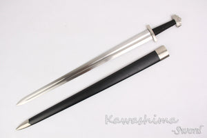 Viking sword Ulfberht High Carbon Steel Full Tang - Heathen Roots