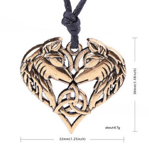 Celtics Spirit Wolf Pendant - Heathen Roots