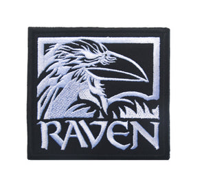 Raven patch - Heathen Roots