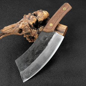 Handmade carbon steel chef knife - Heathen Roots
