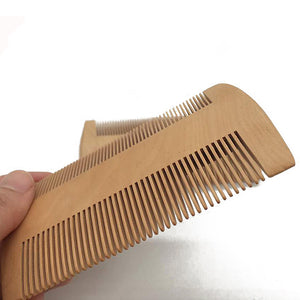 Wooden Mahogany Pocket Comb - Heathen Roots