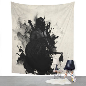 Viking Wall Tapestry - Heathen Roots