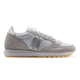 Saucony Sneakers Donna Jazz Original Grigio Con Suola Bicolore In Eva