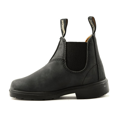Beatles Blundstone junior nubuk nero