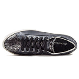 Sneakers Crime Donna Nero Low Top Classic Con Suola Ultra Light