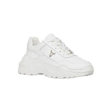 Sneakers Windsor Smith Donna  modello Carte pelle bianca