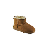 Stivaletto corto Ugg junior in montone nocciola modello Classic Mini