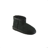 Stivaletto corto Ugg junior in montone nero modello Classic Mini