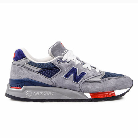 Sneakers New Balance Uomo 998 Made in Usa bimateriale