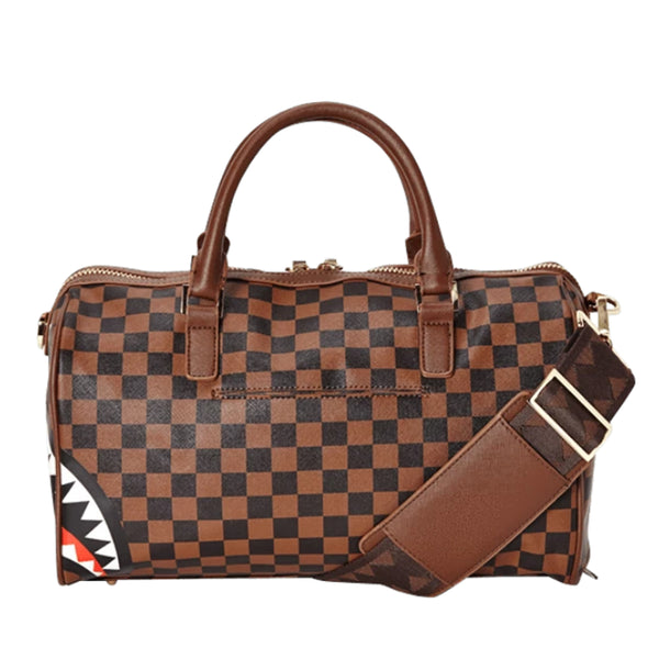 Borsa Sprayground Donna Uomo modello Shark in Paris Mini Duffle