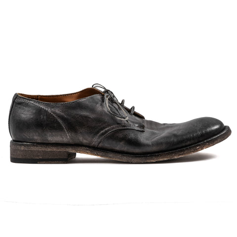 Scarpe Stringate Shoto Uomo Made In Italy Marrone PE20