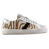 D.A.T.E Sneakers Donna Animalier Hill Low beige