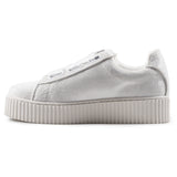 Sneakers Windsor Smith donna bianca paillettes