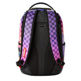 Sprayground The Drop Off Zaino Donna Uomo Viola Arcobaleno