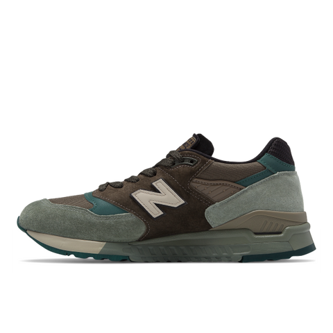 Sneakers New Balance Uomo modello 998 Made in The Usa in bimateriale