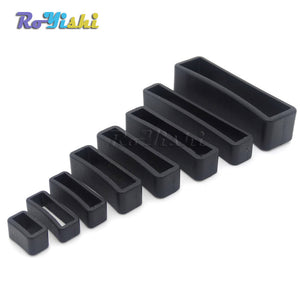 10pcs/pack Plastic Belt Loop Keeper Square Loop Buckles Belt Harness Backpack Straps