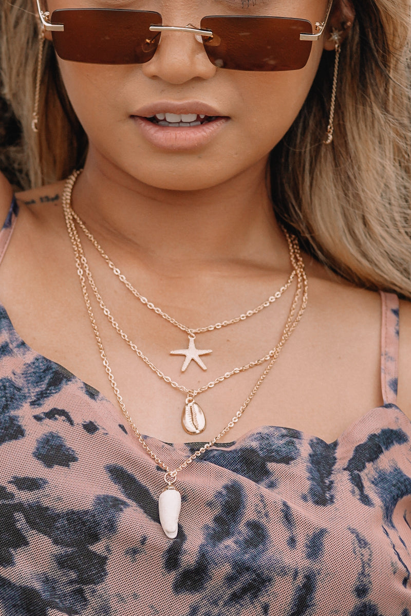 Golden Hour Layered Necklace