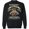 Grumpy old Wests Tigers G180 Crewneck Pullover Sweatshirt  8 oz.