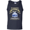 Grumpy old North Melbourne G220 100% Cotton Tank Top