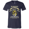 Grumpy Old Richmond Supporter 3005 Unisex Jersey SS V-Neck T-Shirt