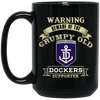 Grumpy old Fremantle BM15OZ 15 oz. Black Mug