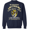 Grumpy Old Richmond Supporter G180 Crewneck Pullover Sweatshirt  8 oz.