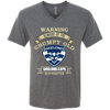 Grumpy old Geelong supporter 170804 Men's Triblend V-Neck T-Shirt