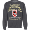 Grumpy old Dragons G180 Crewneck Pullover Sweatshirt  8 oz.