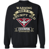 Grumpy old Essendon Supporter G180 Crewneck Pullover Sweatshirt  8 oz.