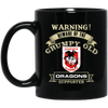 Grumpy old Dragons BM11OZ 11 oz. Black Mug