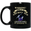 Grumpy old Storm BM11OZ 11 oz. Black Mug