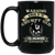 Grumpy old Collingwood BM15OZ 15 oz. Black Mug