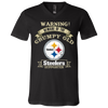Grumpy Old Pittsburgh Steelers Supporter 3005 Unisex Jersey SS V-Neck T-Shirt