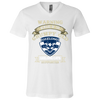 Grumpy old Geelong supporter 170804 Unisex Jersey SS V-Neck T-Shirt
