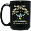 Grumpy old Canberra Raiders BM15OZ 15 oz. Black Mug