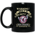 Grumpy old Manly Warringah Sea Eagles. - Sea Eagles BM11OZ 11 oz. Black Mug
