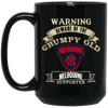 Grumpy old Melbourne BM15OZ 15 oz. Black Mug