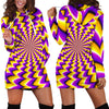 Women's Hoodie Dress Illusion - 070904