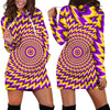 Women's Hoodie Dress Illusion - 070906